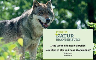 Alte Wölfe und neue Märchen