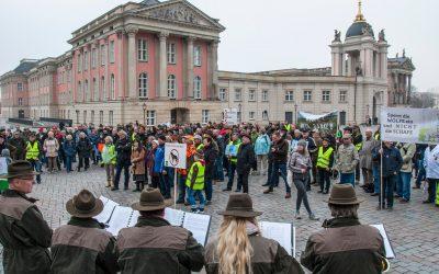 """DEMO in Potsdam: """"Aktives Wolfsmanagement jetzt!"""""""
